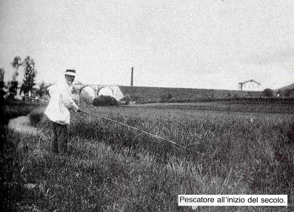 Pescatore all inizio del secolo