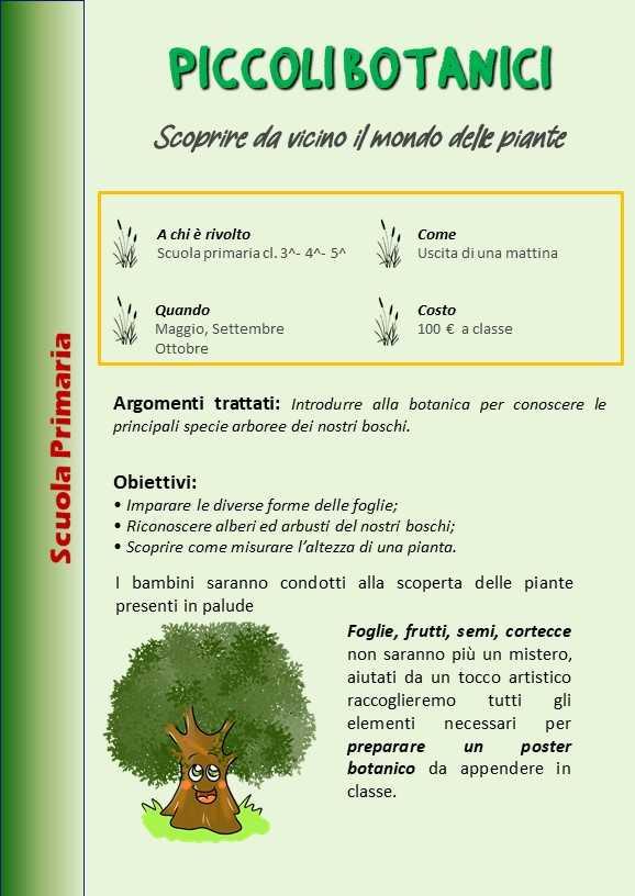 Piccoli botanici